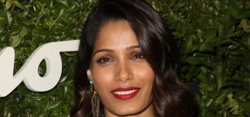 Is Sean Penn trying to make Freida Pinto his next girlfriend?  Ugh.