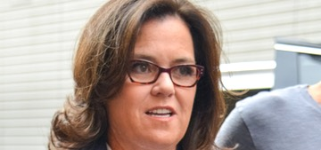 Rosie O'Donnell spoke about estranged daughter Chelsea in a sad standup routine