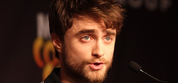 Daniel Radcliffe shades short guys who play tall guys & Tom Cruise comes up