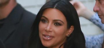 Kim Kardashian & Kanye cohost CFDA Vogue Fashion Fund event: cute?
