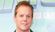 """Kiefer Sutherland's fans feel safer when he flies on their plane"" morning links"