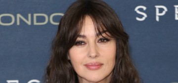 Monica Bellucci: 'I never go to the gym… I'm not obsessed with being skinny'