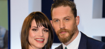 Tom Hardy & Charlotte Riley have welcomed their first child together