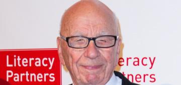 Rupert Murdoch, 84, has a new girlfriend: 59-year-old Jerry Hall!