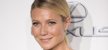 Gwyneth Paltrow in a cut-out Cushnie Et Ochs dress: smug or cute?
