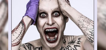Jared Leto says playing the Joker was 'like giving birth' in a gross way