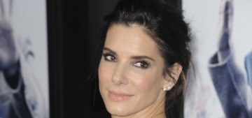 Sandra Bullock in J. Mendel at the 'Our Brand Is Crisis' premiere: cute or fug?