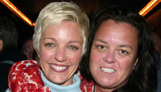 Rosie O'Donnell furious over wife's kiss with another woman