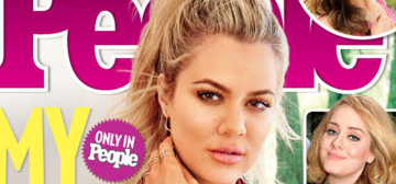 Khloe Kardashian covers People: is she making Lamar's drama all about Khloe?