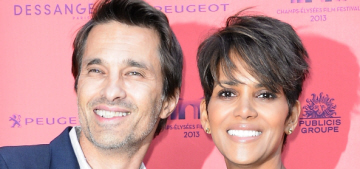 Olivier Martinez really hopes he's not about to be Gabriel Aubry'd by Halle
