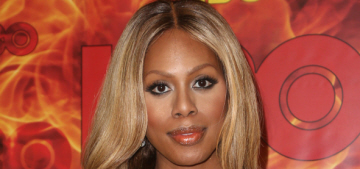 Laverne Cox tries to make hashtag 'I love men but hate patriarchy' into a thing