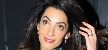 Star: Amal Clooney will 'write you off if you can't talk about foreign affairs'