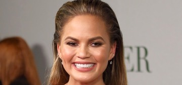 Chrissy Teigen fires back at social media trolls who criticize her pregnancy diet