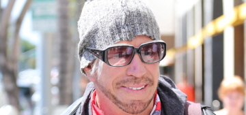 Mickey Rourke's dog Beau Jack stopped him from committing suicide years ago