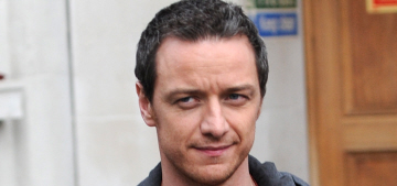 James McAvoy looks tired for a casual outing in London: would you hit it?
