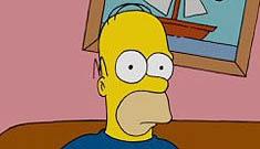 Full Frontal Nudity in The Simpsons Movie (spoilers)