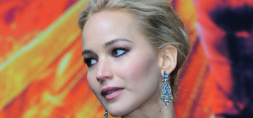 Jennifer Lawrence in Dior at the 'Mockingjay 2′ premiere in Berlin: stunning?