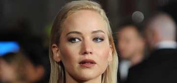 Jennifer Lawrence in Dior for 'Mockingjay 2′ in London: awkward or amazing?