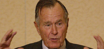George H.W. Bush loves to gossip about how much he hates Cheney & Rumsfeld
