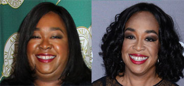 Shonda Rhimes lost weight after she was 'literally too fat' for an airplane seatbelt