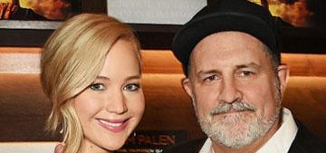 Jennifer Lawrence in sheer Dolce & Gabbana: fashion-forward or fug?