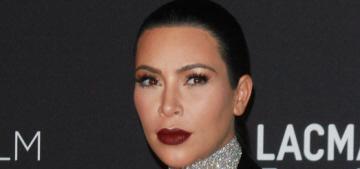 Kim Kardashian in Givenchy at the LACMA Art + Film gala: tragic or cute?