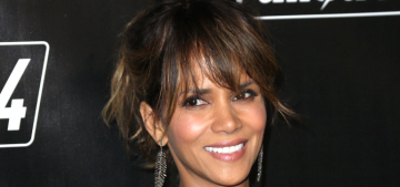 Halle Berry & Olivier Martinez got into a car together & played nice (for the paps)