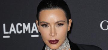 Kim Kardashian, monster: 'I actually don't love Thanksgiving food, isn't that weird?'