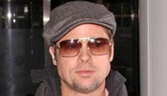 Brad Pitt takes his boys to Long Island Dunkin Donuts