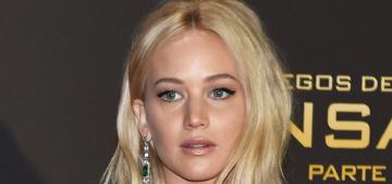 Jennifer Lawrence in Ralph Lauren at Madrid 'Mockingjay' premiere: lovely?