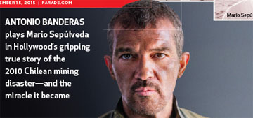 Antonio Banderas on filming The 33, about the Chilean miners: 'everyone got sick'