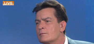 Charlie Sheen's 'Today' interview: he was diagnosed with HIV four years ago