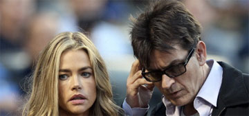 Denise Richards knew Charlie Sheen had HIV, 'had not been intimate' with him
