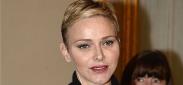 Princess Charlene debuted a new pixie haircut this week: flattering or fug?
