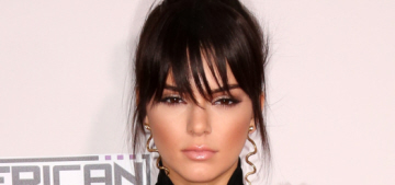 Kendall & Kylie Jenner attended the AMAs: who had the worst style?