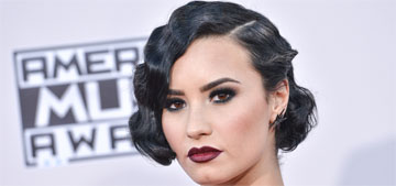 Demi Lovato in Lorena Sarbu at the AMAs: refreshing or matronly?