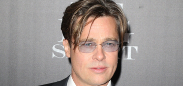 Real question: did Brad Pitt wear a '90s wiglet at 'The Big Short' premiere?