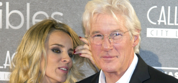 Richard Gere, 66 and his 32-year-old girlfriend made their red carpet debut: ugh?