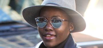"""Lupita Nyong'o's NYC street style is still pretty amazing"" links"