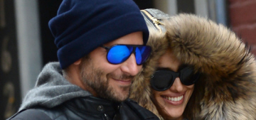 Bradley Cooper & Irina Shayk are living together & talking about marriage, babies