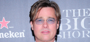 Brad Pitt talks about his atheism & how Angelina made him a better actor