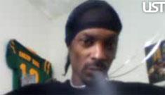Snoop Dogg live streams pot smoking videos, says 'blaze that sh*t up'