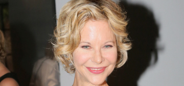 Meg Ryan: Conversations about aging, looks & hair color are 'not that interesting'