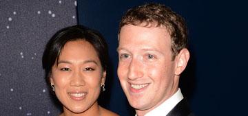 Mark Zuckerberg & Priscilla Chan welcome daughter Max, pledge 99% of wealth