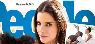People: Sandra Bullock confirms adoption of three year-old daughter, Laila