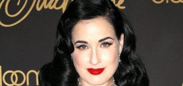 Dita Von Teese slams the Kardashians' corsets: 'It's like the blind leading the blind'
