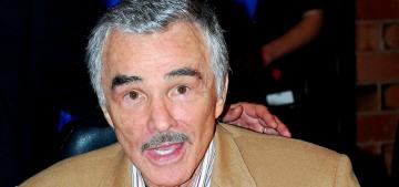 Burt Reynolds loves toupees & Angelina Jolie, but hates Paul Thomas Anderson