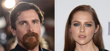 Christian Bale thought Teresa Palmer was really a stripper during 'Knight of Cups'
