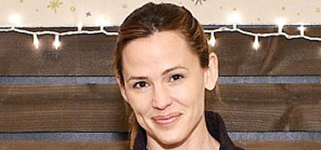 Jennifer Garner attends charity event without makeup: young looking?