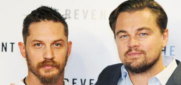 Tom Hardy & Leonardo DiCaprio do a BAFTA screening for 'The Revenant'